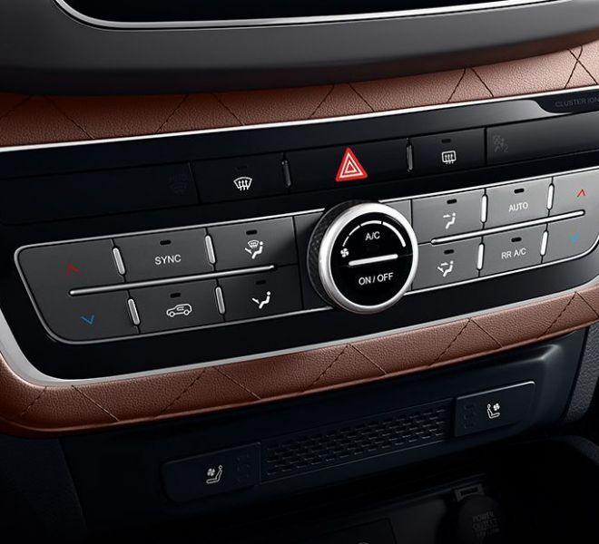 Automotive Mahindra Alturas G4 Interior-2