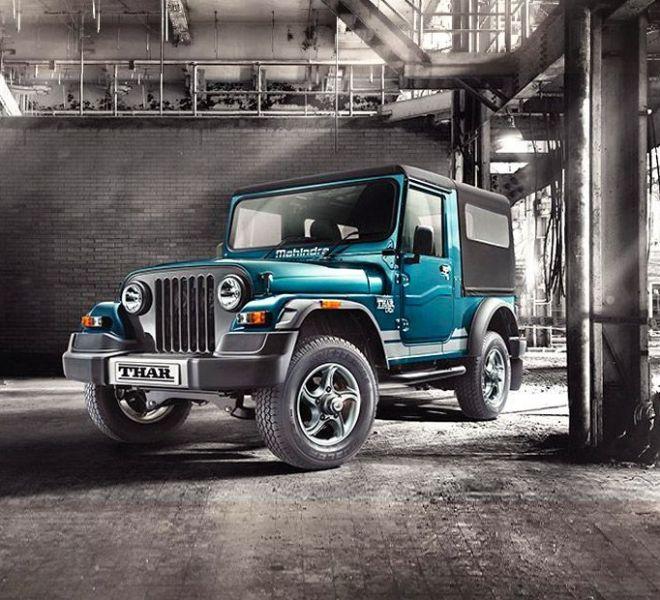 Automotive Mahindra Thar Exterior-2