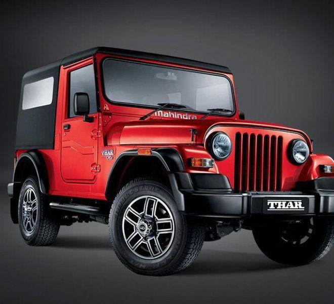 Automotive Mahindra Thar Exterior-6